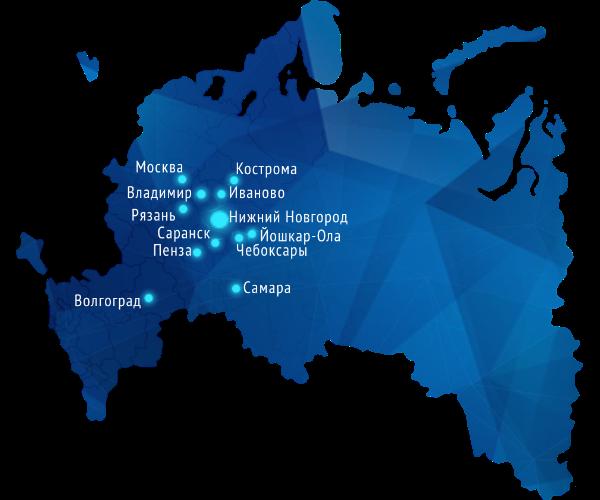 Карта работы ВКТ